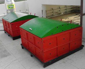 Biobin composting units